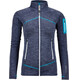 Ortovox W's Melange Fleece Jacket Light Night Blue